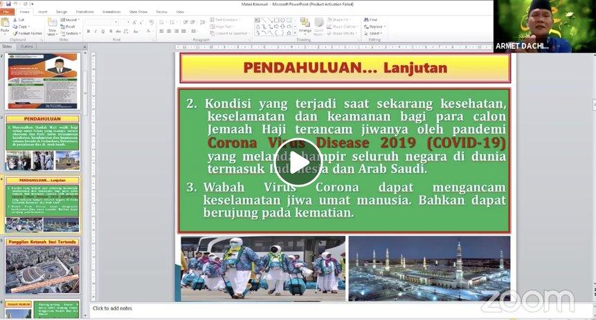 Zona Hijau Kemenag Musi Rawas Utara Akan Laksanakan Pembinaan Manasik Haji Maksimal Website Haji Dan Umrah Kementerian Agama Ri